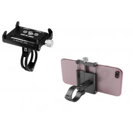 Soporte Metal Smartphone Quick Media Black para Xiaomi Mijia M365 / M365 PRO