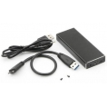 Carcasa Disco Duro SSD 12+16 PIN USB 3.0 Silver para MacBook Air/Pro