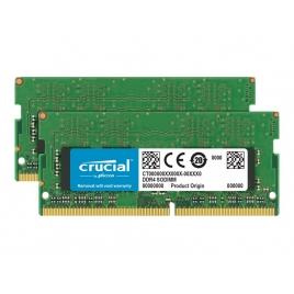 DDR4 32GB BUS 2666 Crucial CL19 KIT 2X16GB