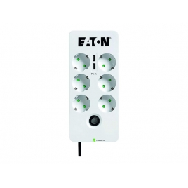 Regleta Protectora Eaton 6 Tomas + 2 USB