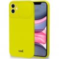 Funda Movil Back Cover Cool Silicona Camara Yellow para iPhone 11