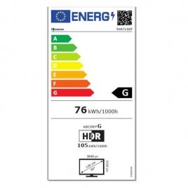 """Television Hisense 65"""" LED H65A7100F 4K UHD Smart TV Black"""