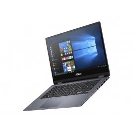 """Portatil 360 Asus Vivobook Flip 14 Tp412fa CI5 8GB 256GB SSD 14"""" FHD Tactil W10P Grey"""