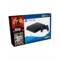 Consola Sony PS4 Slim 500GB + GTA V + red Dead Redemption 2