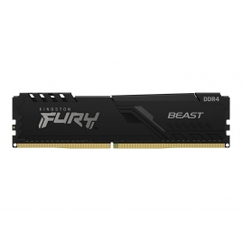 DDR4 8GB BUS 2666 Kingston CL16 Fury Beast Black