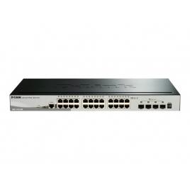 Switch D-LINK DGS-1510-28X 10/100/1000 24 Puertos + 4 SFP+ 10G