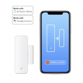 Sensor Apertura Puerta / Ventana Unotec Alexa / Google Home WIFI