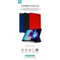 "Funda Tablet Devia Leather Pencil Slot red para iPad 10.2"" 2019 2020"
