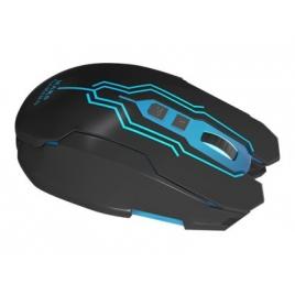Mouse Mars Gaming MM216 Optico 5000DPI 7 Botones Iluminacion RGB 6 Colores Black