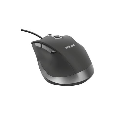 Mouse Trust Fyda Ergonomic 5000DPI USB Black