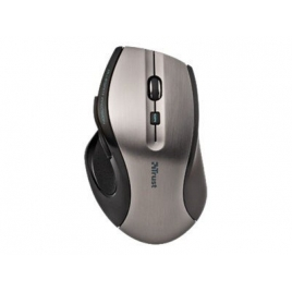 Mouse Trust Optical Maxtrack 6 Botones 1000DPI Silver/Black