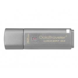 Memoria USB 3.0 Kingston 32GB Data Traveler Locker+ G3 Cifrado