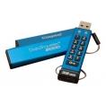 Memoria USB 3.0 Kingston 64GB Data Traveler 2000 Cifrado