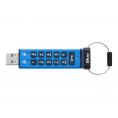 Memoria USB 3.0 Kingston 8GB Data Traveler 2000 Cifrado