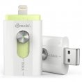 Memoria USB Silver HT 16GB Istick Gmobi White