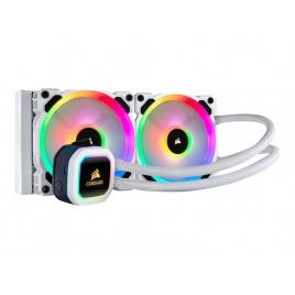 KIT Refrigeracion Liquida CPU Corsair Cooling Hydro Series H100I RGB Platinum se White
