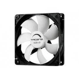 Ventilador 12CM 120X120x25mm Tacens Auraii 12BDA Black/White