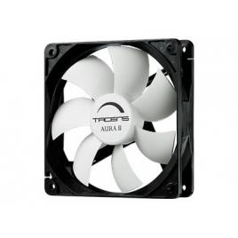 Ventilador 8CM 80X80x25mm Tacens Auraii 10DBA Black/White