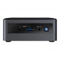 Barebone Intel NUC CI7 10710U 8GB 1TB Intel Graphics 7.1 Glan WIFI BT USB-C W10 Black