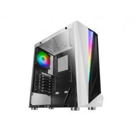 Caja Mediatorre ATX Mars Gaming MCL USB 3.0 White / Cristal