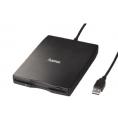 Disquetera USB Externa Hama 53100 Black