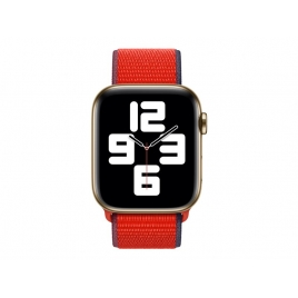 Correa Apple 44MM Nylon Sport Loop red