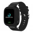 Smartwatch Brigmton BWATCH-KIDS SIM GPS 1,22'' Black