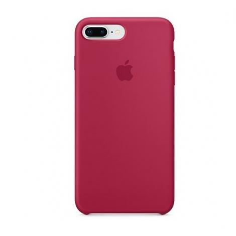 Funda iPhone 8 / 7 Plus Apple Silicone Rose red