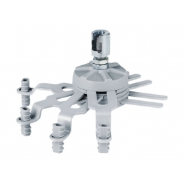 Adaptador Aero Ligth Universal Aluminio
