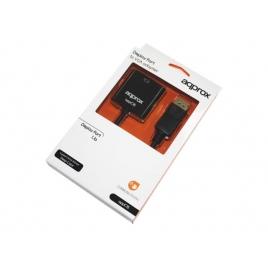 Adaptador Approx DisplayPort Macho / VGA Hembra Black