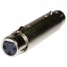 Adaptador Kablex Audio XLR 3 PIN Hembra / XLR 3 PIN Hembra