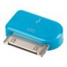 Adaptador Kablex Conector Apple 30 Pines / Micro USB Blue