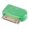 Adaptador Kablex Conector Apple 30 Pines / Micro USB Green