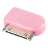 Adaptador Kablex Conector Apple 30 Pines / Micro USB Pink