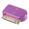Adaptador Kablex Conector Apple 30 Pines / Micro USB Purple