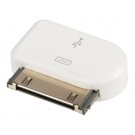 Adaptador Kablex Conector Apple 30 Pines / Micro USB White