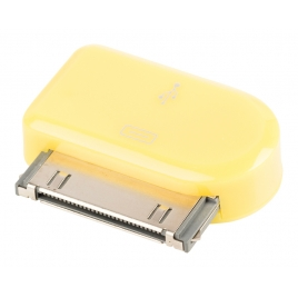 Adaptador Kablex Conector Apple 30 Pines / Micro USB Yellow