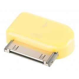 Adaptador Kablex Conector Apple 30 Pines / Micro USB Yellow