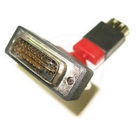 Adaptador Kablex HDMI 19 Hembra / DVI 21+5 Macho