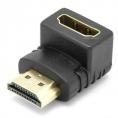 Adaptador Kablex HDMI Macho / HDMI Hembra Acodado 90º