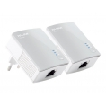 Adaptador PLC TP-LINK Homeplug Powerline 500Mbps Nano KIT 2U
