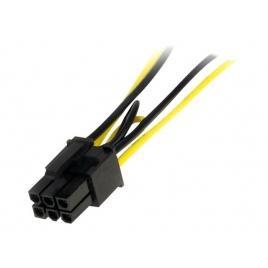 Adaptador Startech 2X Sata Macho / PCIE 6P Hembra