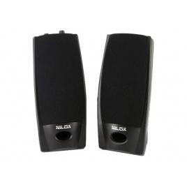 Altavoces Nilox J27 Speakers 2.0 6W Black