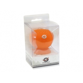 Altavoz Bluetooth Conceptronic Impermeable 3W con Ventosa Orange