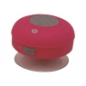 Altavoz Bluetooth Conceptronic Impermeable con Ventosa Pink