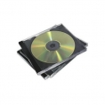 Archivador Caja CD 1 Unidad Black Pack 5U