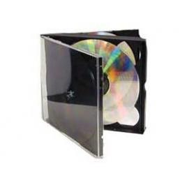 Archivador Caja CD 4 Unidades Pack 5U