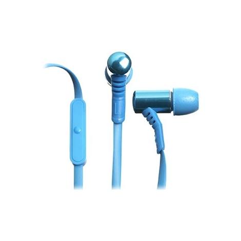 Auricular + Microfono Celly Intrauditivo Blue
