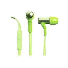Auricular + Microfono Celly Intrauditivo Green