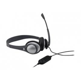 Auricular + Microfono Conceptronic USB Black